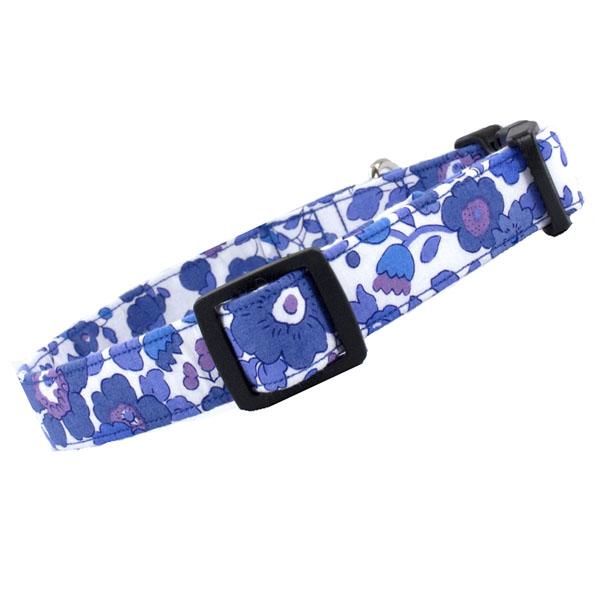 Liberty Betsy blue hundehalsbånd