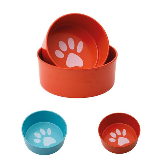 Image of Mad- og vandskål i melamin til hund
