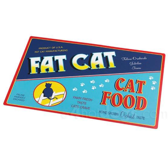 Billede af Vintage underlag Fat Cat