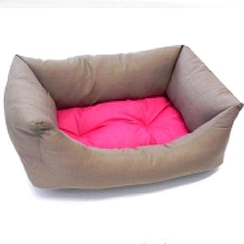 Billede af Hundesofa Domino pink