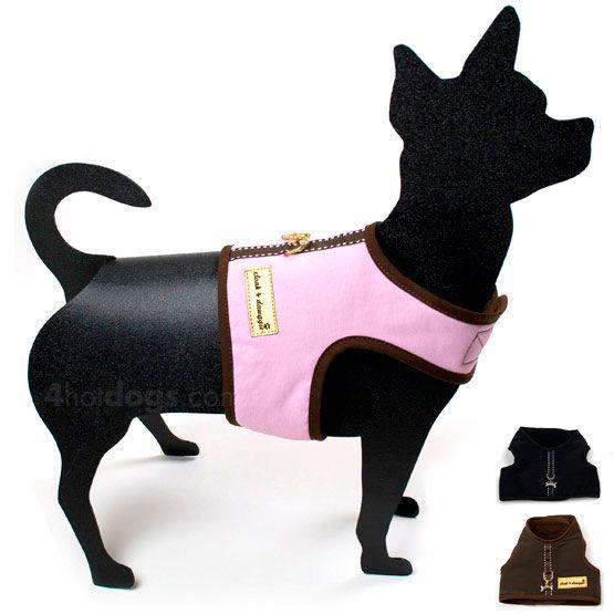 Billede af Nylon harness hundesele med fleece og trim