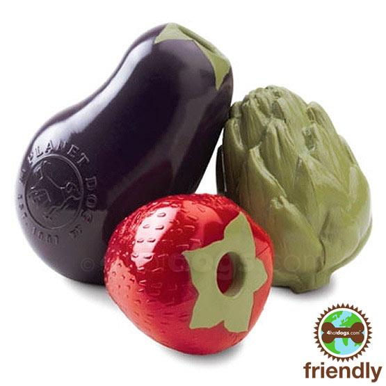 Image of   Frugt og grønt aktivitetbold