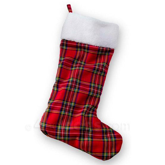 Billede af Skotskternet julesok