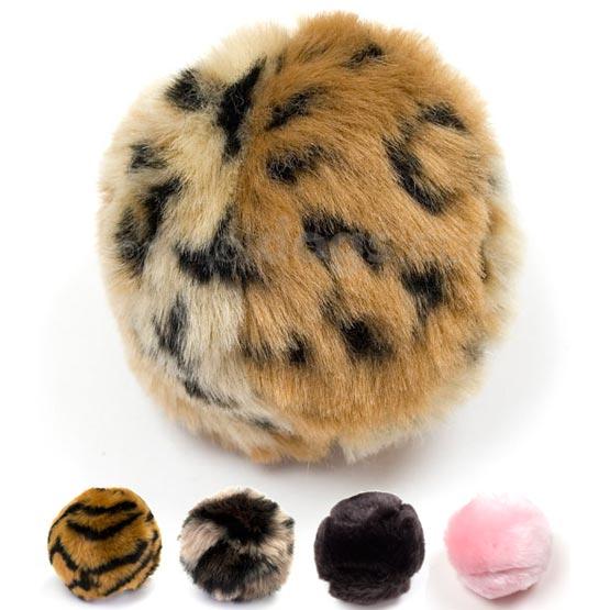 Image of Imiteret pels bold til katten og hunden