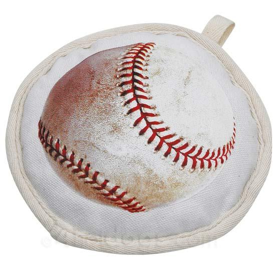 Billede af Baseball hundelegetøj i bomuldskanvas
