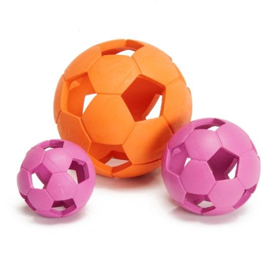 Image of   Gummi bold med huller til hund