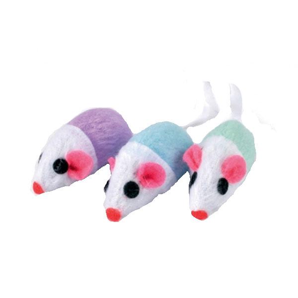 Billede af Kattelegetøj tofarvet mus
