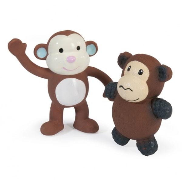 Billede af Sød latex abe til hunden