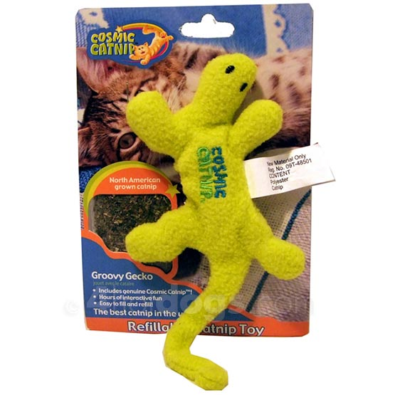 Image of Cosmic Cat Groovey Gecko 100% organic