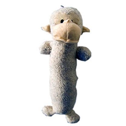 Billede af Hundelegetøj, blød abe med piv