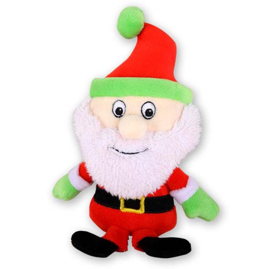 Billede af Hundelegetøj julemand med piv