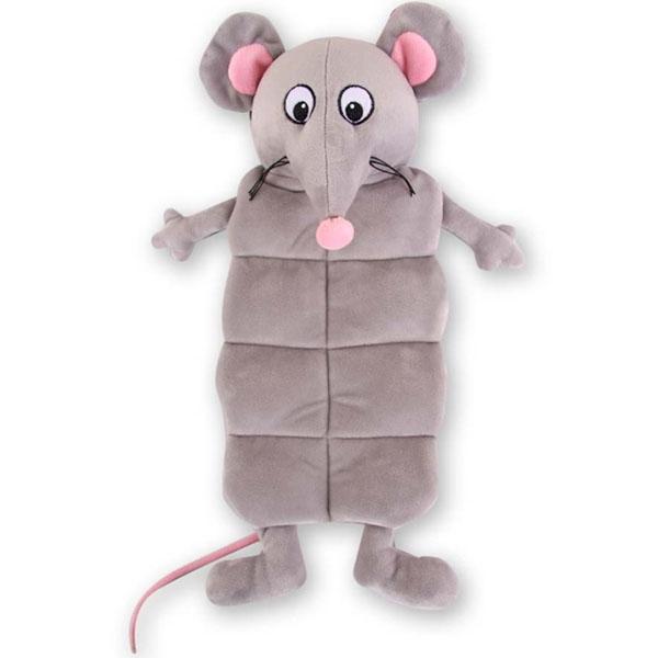 Billede af Hundelegetøj stor mus med piv