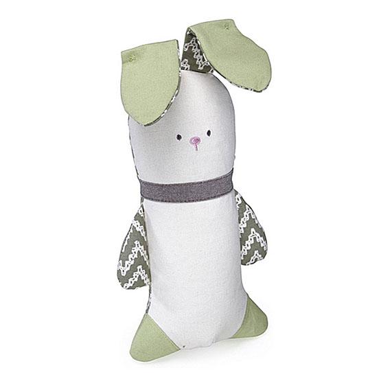Kathy Ireland knitre kanin til hund