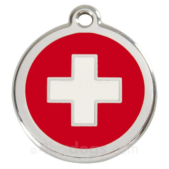 Billede af Kattetegn med Swiss Cross