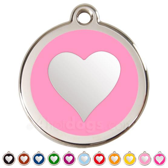 Image of Kattetegn med hjerte 11 forskellige farver