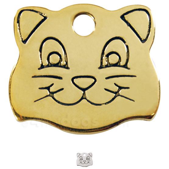 Image of Kattetegn med kattesmil