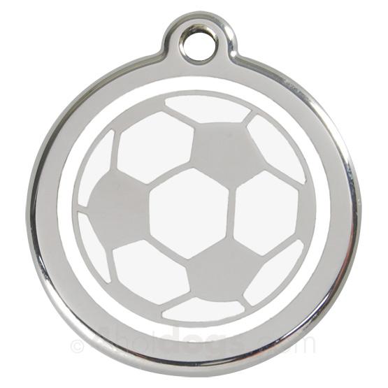 Billede af Hundetegn Fodbold medium