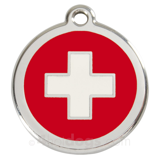 Image of   Hundetegn Swiss Cross medium
