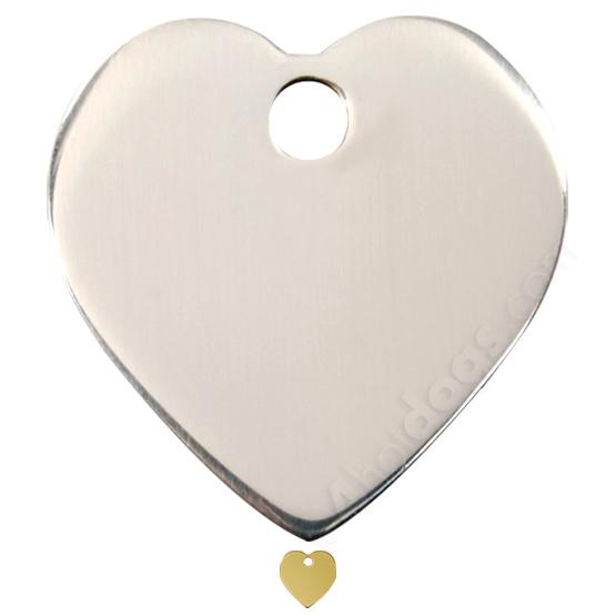 Image of Kattetegn med hjerte stål