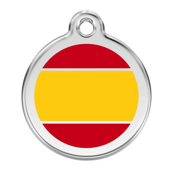 Image of Hundetegn spansk flag small