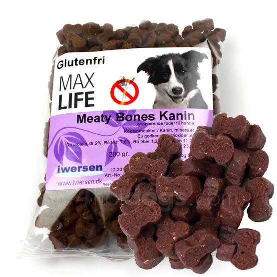 Image of Hundegodbidder, Max Life Meaty Bites KANIN200g