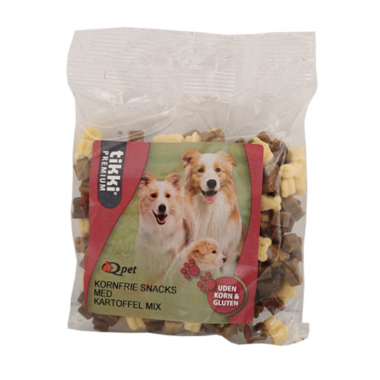 Billede af Hundegodbidder, Tikki Premium kornfri godbidder 150g mix