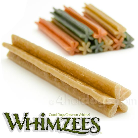 Image of Hundegodbidder, Whimzees tyggestænger, glutenfri str.S
