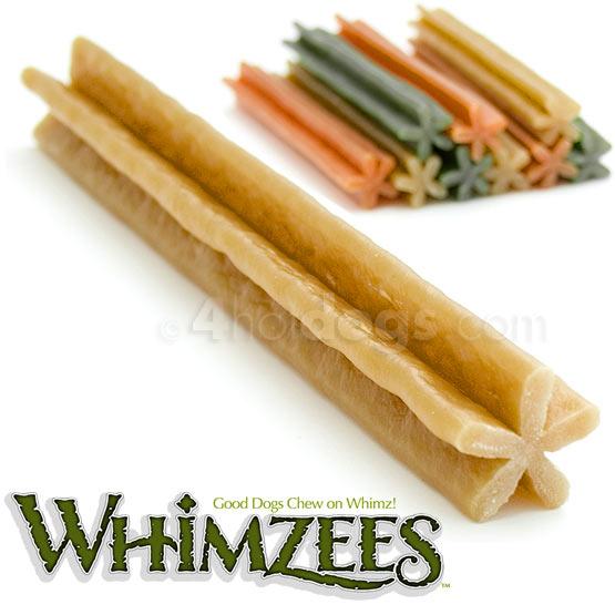 Billede af Hundegodbidder, Whimzees tyggestænger, glutenfri, str L