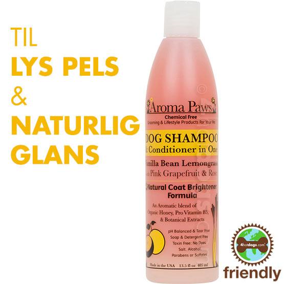 Billede af Hundeshampoo 2i1 Vanilje/lemongræs- Miljøven.