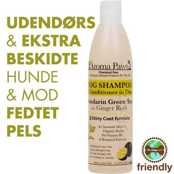 Billede af Hundeshampoo 2i1 Mandarin/Grøn te -Miljøvenl.