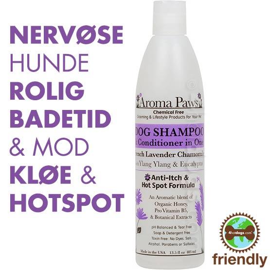 Billede af Hundeshampoo 2i1 Lavendel/Kamille -Miljøvenl.