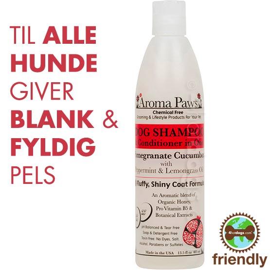 Billede af Hundeshampoo 2i1 Granatæble/Agurk -Miljøvenl.