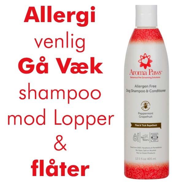 Gå Væk shampoo mod ex.tæger-naturprodukt