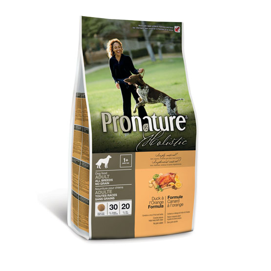 Pronature hundefoder med and-13,6kg