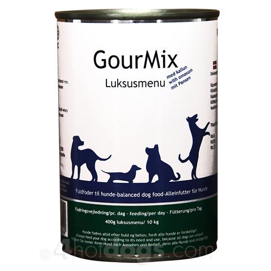 Image of GourMix hundefoder m.kallun, 400g dåse