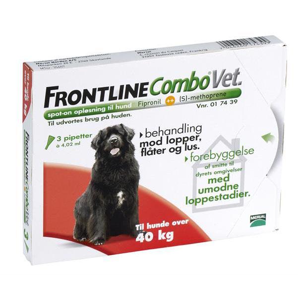 Billede af Loppemiddel. til hund, over 40 kg.