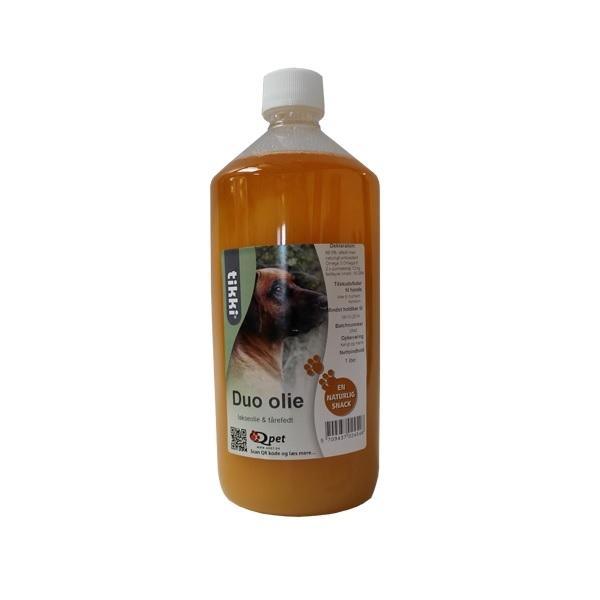 Billede af Tikki Duo Olie, Lakseolie & fårefedt, 1 liter