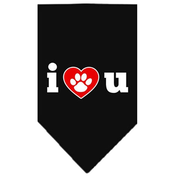 Hundebandana - I LOVE U