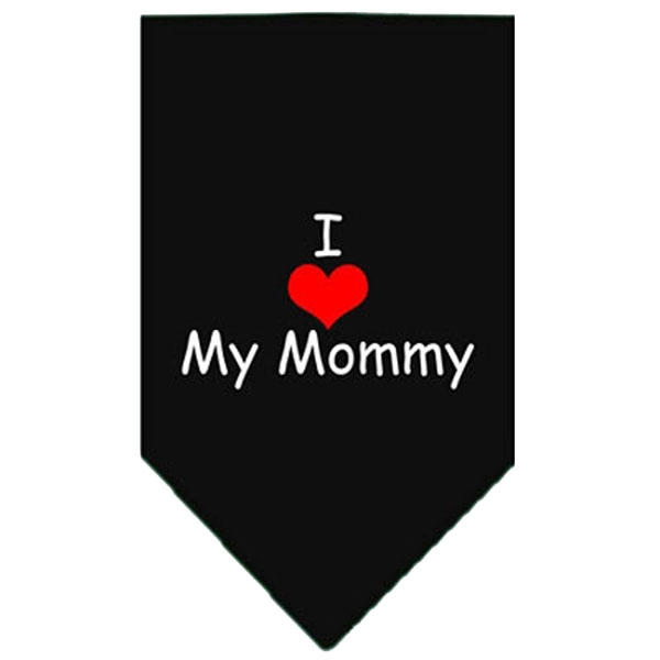 Image of   Bandana - I LOVE MY MOMMY - Sort