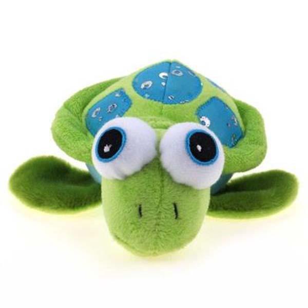 Hundelegetøj - plys skildpadde