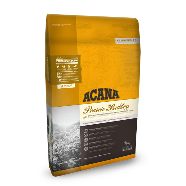 Image of   ACANA CLASSICS, Prairie Poultry 2kg