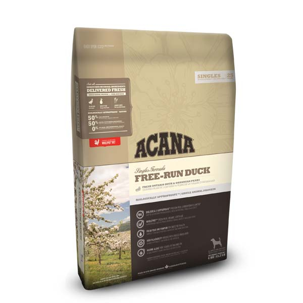 Image of ACANA hundefoder Free run Duck 2 kg