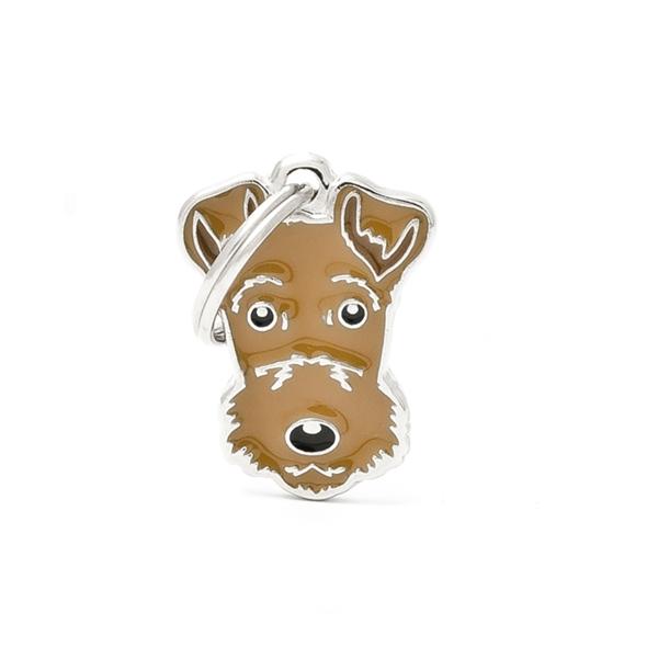 Image of   Airdale Terrier hundetegn