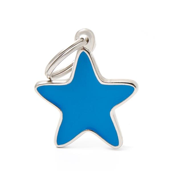 Billede af Blå Stjerne hundetegn