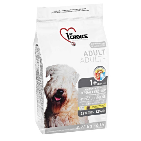 Image of   1st Choice Hyperallergi hundefoder, 2,72 kg