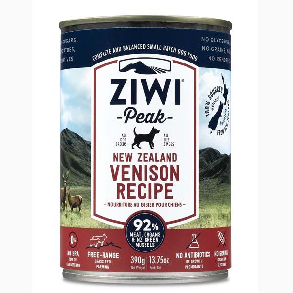 Image of   ZiwiPeak dåse hundemad med hjort