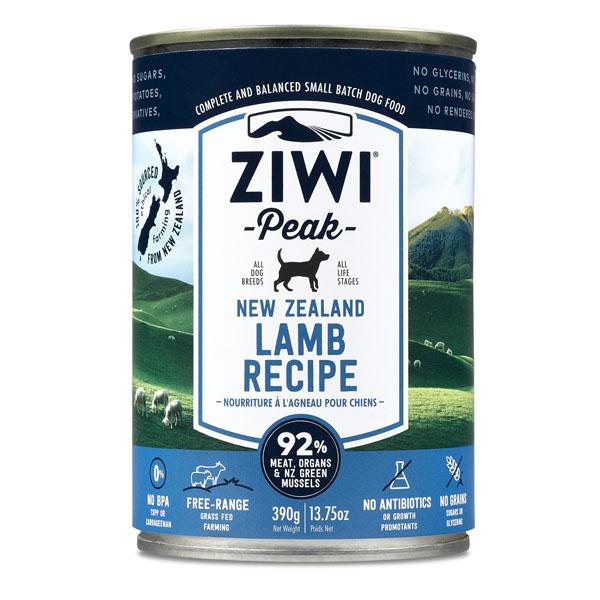 Image of   ZiwiPeak dåse hundemad med Lammekød