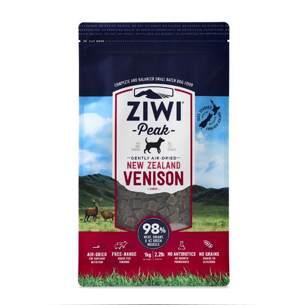 Image of   ZiwiPeak hundefoder, Hjort - 1 kg.