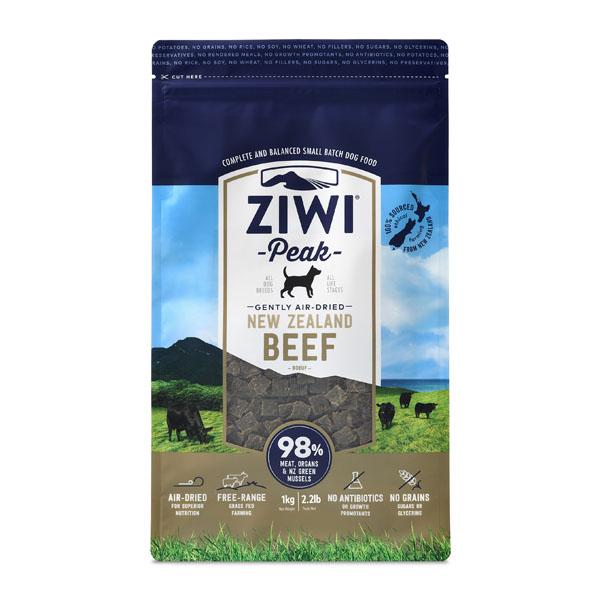 ZiwiPeak hundefoder, Okse - 1 kg.