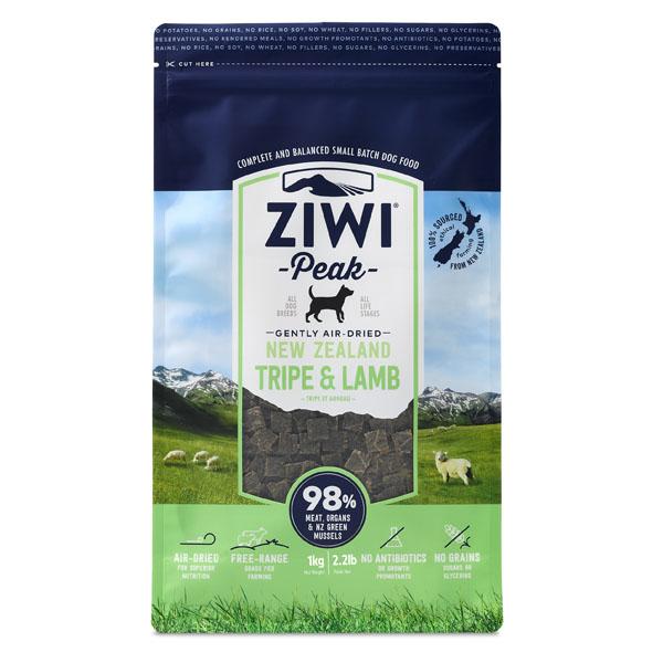 Image of   ZiwiPeak hundefoder med lam og kallun 1kg